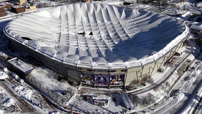 Vikings Stadium Roof Is Self Cleaning Nfl General